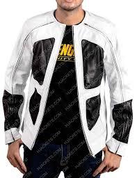 deadpool 2 shatterstar leather jacket