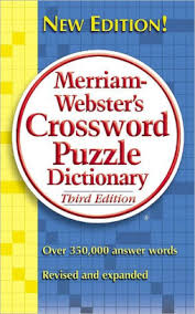 merriam webster s crossword puzzle dictionary third edition