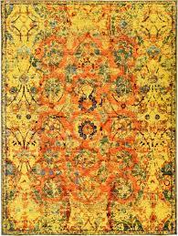 yellow eclat area rug