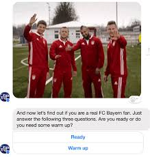 Последние твиты от manuel neuer (@manuel_neuer). How This Chatbot Helps Munich Fans Win A Free Trip To The Game By Franz Buchenberger Chatbots Magazine