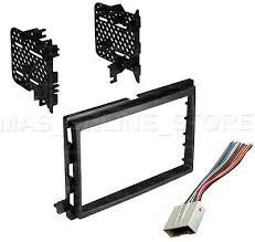 toyota corolla double din car stereo radio install dash bezel kit double din stereo install dash kit w wire harness for ford lincoln mercury cars