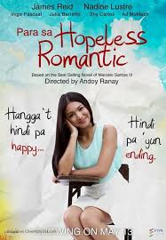 romantic movie poster para sa hopeless romantic philippine movie poster