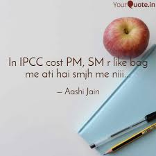 Diet Quotes Gorgeous In IPCC Cost PM SM R Lik Quotes Writings By Aashi Jain