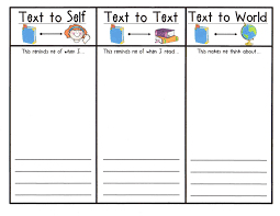 Student Response Sheet To Illustrate And