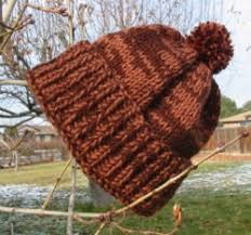 Easy Knit Hat Pattern Straight Needles Unique Hot Chocolate Hat Judy's Knitting Page