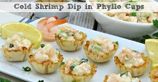 Who even needs dinner with these delicious shrimp appetizers. Cold Shrimp Dip In Phyllo Cups Moms Need To Know