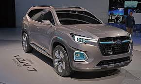 2018 subaru 7 seater suv. interesting suv subaruu0027s concept shows the size of crossover to go on sale in mid2018  but not final styling to 2018 subaru 7 seater suv t