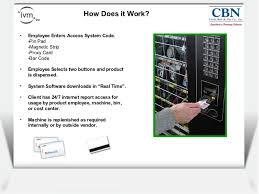 How Vending Machine Works Stunning CBN Vending Machine Presentation