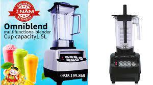 1✓ Máy xay sinh tố công nghiệp Omniblend - Máy pha chế chuyên nghiệp cho  quán kinh doanh đồ uống - 3 Mới Dữ