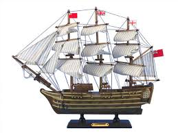 vintage wooden 3 d frigate ship boat