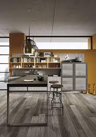 Industrial Kitchen Floor Refined Kitchen Brings Industrial Richness To Urban Interiors