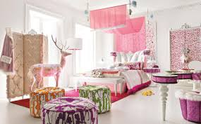 Pretty Teenage Bedrooms Bedroom Pretty Teenage Girl Bedroom Decor With Colorful Pillows
