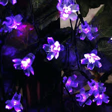 purple solar lights solar light outdoor fairy lights waterproof lighting purple blossom solar string light for garden purple solar lights uk
