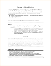 Examples Of Resume Summary Statements Resume Summary Statement Example Resume Summary Statement Examples 14