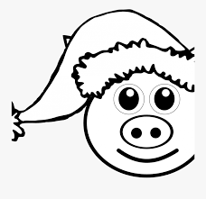 This peppa pig colouring sheet for children is ideal for a quick colouring painting activity when you need it. Digital Art Gallery Peppa Pig Coloring Pages At Book Christmas Pig Coloring Sheet Free Transparent Clipart Clipartkey