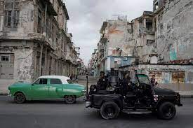 Faced with rare protests, Cuba curbs ...
