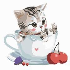 Tổng hợp Dễ Thương Tranh Mèo Cute giá rẻ, bán chạy tháng 9/2021 - BeeCost