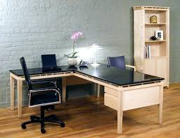 top office desks. Glass Top L Shaped Desk Office Desks Image Of Depot E