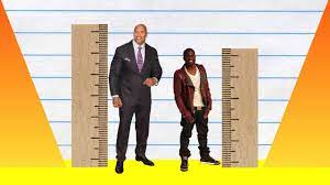 """The Rock"""" Johnson vs Kevin Hart ..."""