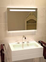 Bathroom Mirror Demister Light Mirrors Led Enlighten Halo Range Bathroom Mirror With