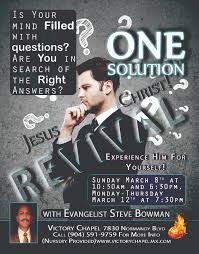 design a flyer for your church church