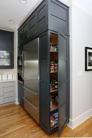 Kitchen Cabinets Refrigerator Kitchen Pantry Cabinet Refrigerator Cabinet With Side Pantry How