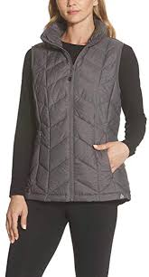 Gerry Size Chart Gerry Womens Large Vest Puffer Full Zipped Jacket