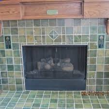 custom craftsman fireplace surround by cottage crafts tile custommade com