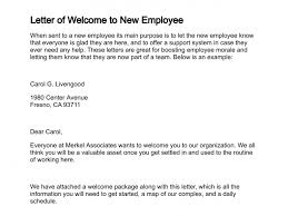Letter Of Welcome To New Employee Lettering New Employee