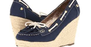 Sebago Priscilla Wedge | Womens shoes wedges, Lace up wedge sandals, Blue  wedge sandals