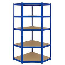 Metal Corner Shelving Unit Classy Metal Corner Shelf 32 Tier Shelving Unit Boltless Garage Utility By