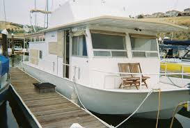 1972 River Queen 40' Steel Houseboat - California