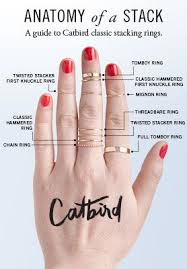 Catbird Ring Size Chart Catbird Stack Em Up Fashion Multiple Rings Jewelry