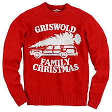 Christmas Vacation Griswold Family Christmas Adult Sweater: Amazon ...