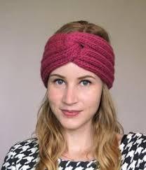Knitted Headband Pattern Mesmerizing 48 FREE Knitting Headbands Patterns Knitting Pinterest