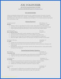 Cv Template Hospitality Unique Resume Template Examples Beautiful