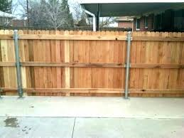 best way to install wood fence posts wooden fence post fence post installation installing wood fence