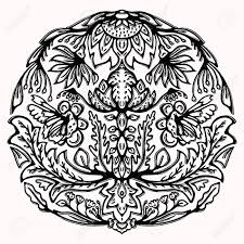 Graphic Design Paisley Paisley Butterfly Folk Art Graphic Design Element Hand Drawn