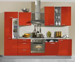 cute red metal kitchen cabinets european home designs gallery