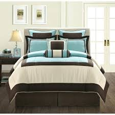 blue and brown comforter set queen surprising brown bedding sets photos suede comforter set queen and