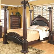 Canopy Bed Unique Beds Bedroom With Black Furniture Paint Color ...