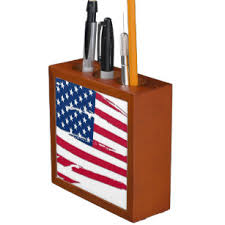 Tattered American Flag Office School Products Zazzle