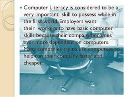 importance of computer literacy 14  computer literacy
