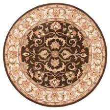 contemporary 6 foot round rug with area rugs from bed bath beyond decorations 9 6 6 foot round rug