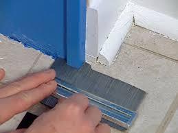 how to install vinyl tiles