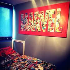 superhero room decor marvel room decor