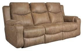 southern motion marvel double reclining sofa with power headrests item number 881 61p