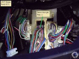 2015 toyota sienna h key remote starter pictorial if your r s system has the capability here is a shot of the rear defroster wire in the bottom plug in the dkp it needs