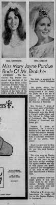 Preston Pressley - Usher for Bratcher and Purdue wedding 1969 -  Newspapers.com