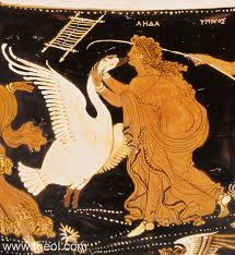 leda spartan queen of greek mythology leda and the swan apulian red figure loutrophoros c4th b c the j